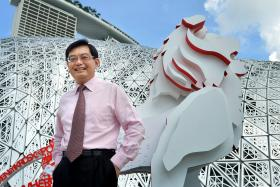 Finance Minister Mr Heng Swee Keat, 54, has suffered a stroke.