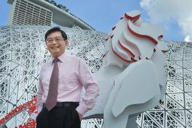 SHOCKING: Finance Minister Heng Swee Keat collapsed from a sudden stroke at about 5.30pm yesterday.