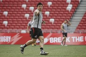 """""""When we give the opponents points and let them lead (the game), we struggle. Our defence must not concede points. This is the Stormers' first time in Singapore and that is an advantage for us. When we get opportunities, we must finish it off."""" — Sunwolves' stand-in captain Haru Tatekawa (above)"""