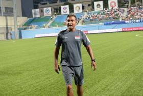 """""""Sundram needs to have free rein to choose the players that he needs to do the job, and the FAS must support him in whatever he wants in terms of preparation."""" -  Ex-Lion Steven Tan, on the task ahead for V Sundramoorthy (above)"""