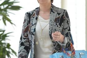 IN COURT: Guan Enmei (above) divorced Dan Tan Seet Eng in July last year.