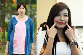BETTER: Rui En says her weight gain opened her eyes to the harshness of bodyshaming.
