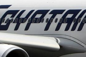 An EgyptAir flight MS804 has crashed into the Mediterranean sea. File photo of an EgyptAir plane is seen on the runway at Cairo Airport.