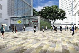 NEW: The Marine Parade station is slated for completion in 2023.