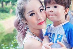 WIDE REACH: Singapore blogger Wendy Cheng, who has more than 614,000 followers on Instagram, often posts pictures of her son Dashiel, 3.