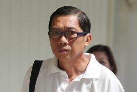EX-OFFICER: Koon Kok Wai was sentenced to five years' jail yesterday.