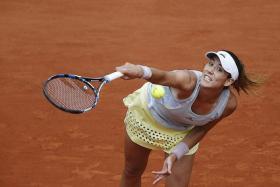STRONG CONTENDER: Garbine Muguruza (above) has been tipped to become a Grand Slam winner.