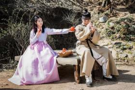 DIFFERENCES: Yoon Shi Yoon, 29, and Kim Sae Ron, 15, in Korean drama Mirror Of The Witch.