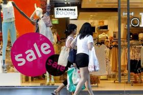 SHOP AROUND: This year's Great Singapore Sale will run for two more weeks to cater to tourists on summer holidays.