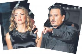 SPLIT: Amber Heard filed for divorce from Johnny Depp on May 23. She submitted a photo of her bruised face as evidence of domestic abuse.