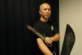 Wing Chun master, Dennis Lee.