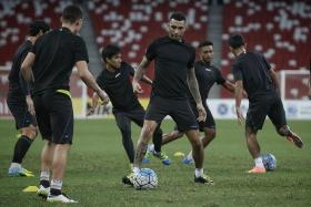 BIG ROLE: Attacking players like Jermaine Pennant (above) will be called upon to get the goals as Tampines need a win to keep pace with league leaders Albirex.