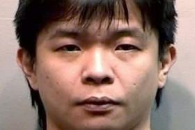 JAILED: Ker Kian Hwee was jailed nine months after pleading guilty to causing grievous hurt by performing a rash act. The man he punched now has amnesia.