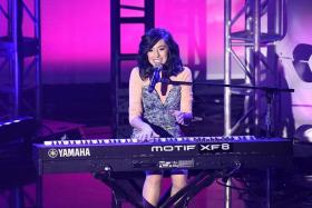 KILLED: Singer Christina Grimmie was shot dead by an unidentified gunman yesterday.