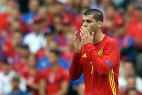 Spain's Euro title defence looks shaky with unproven forwards like Alvaro Morata leading the line.