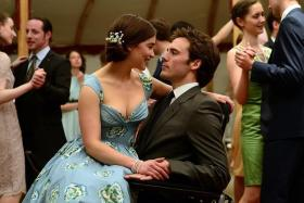CONTROVERSIAL: Emilia Clarke and Sam Claflin star in Me Before You.
