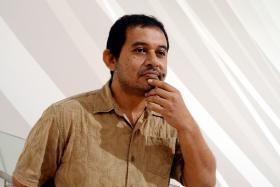 MISSED: (Above) Abdul Nizam Abdul Hamid was part of local band NoNames.