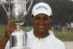 MEMORIES: Michael Campbell (above), who won the US Open in 2005 when it was held at Pinehurst, recalls how unforgiving Oakmont was when he played there in 2007.