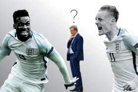 England manager Roy Hodgson faces a selection dilemma after substitutes Daniel Sturridge and Jamie Vardy scored the goals to earn them a 2-1 win over Wales.
