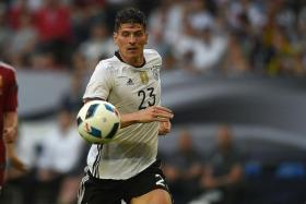 POACHER'S INSTINCT: Germany sorely lacked Mario Gomez's direct presence against Poland.