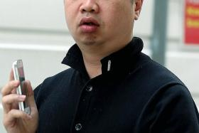 JAILED: Ex-cop Hui Yew Kong (above) and Club Icon general manager Samuel Lim Yong Choon.