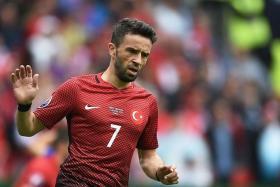Turkey defender Gokhan Gonul.