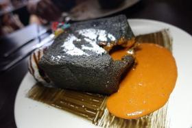 YUMMY: Thai Tea Charcoal Shibuya Toast.
