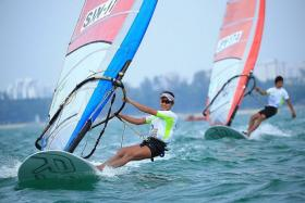 HEADING TO RIO: Windsurfer Audrey Yong will start training for the Olympics today, after her slot was confirmed yesterday.