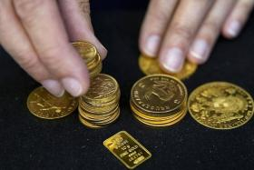 IN FLUX: While the British pound continues to plunge against the US dollar, gold (above) has been surging, while the outlook for London property appears mixed.