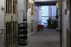 WHERE THEY LIVED: The crime took place in a flat at Bendemeer Road.