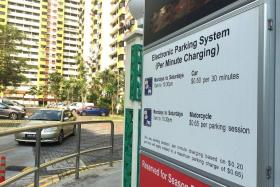 INCREASE: From Dec 1, parking fees will go up, the Urban Redevelopment Authority and Housing Board announced in a joint release yesterday.
