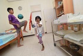 ACTIVE: Diksha Anand, seven, and her brother, Satya, 14, were diagnosed with focal segmental glomerulosclerosis at a very young age. Despite the chronic disease, they have an active lifestyle.
