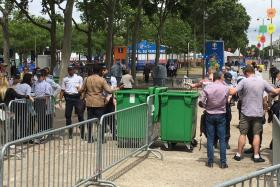 Security has been tight at Euro 2016 fan zones - much to the chagrin of Neil Humphreys.