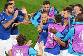 LESSON FOR ALL: Tactics aside, the Italians show there is no substitute for camaraderie and resolve.