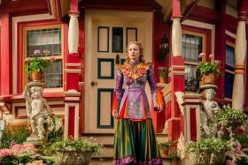 Mia Wasikowska returns as the titular heroine in Alice Through The Looking Glass