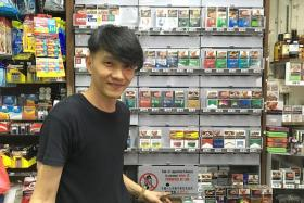 STRICT: Shopkeeper Richard Toh says that if customers kick up a fuss when he refuses to sell, he would ignore them.