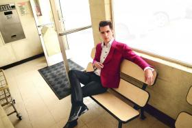 Flamboyant frontman Brendon Urie is the sole remaining member of US alt-rock band Panic! at the Disco