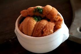Lolla's signature sea urchin pudding