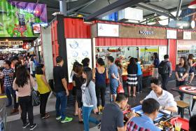The Fishball Story located at hipster hawker centre Timbre+ is one of the seventeen hawker stalls awarded with the Bib Gourmand award for the inaugural Singapore Michelin Guide.