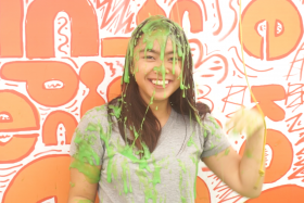 You get the chance to get slimed at this year's Nickelodeon Slime Cup.