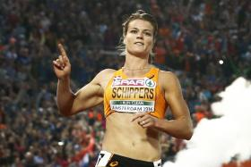 DAZZLING DAFNE: Dutchwoman Dafne Schippers (above) is shaping up well for next month's Olympics, going under 11 seconds for the 100m in Monaco yesterday.