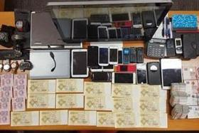 RAIDS: The Singapore Police Force seized more than $650,000 and other equipment during illegal betting raids here.