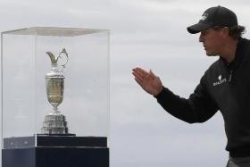 SO CLOSE, YET SO FAR: Phil Mickelson was a whisker away from winning the Claret Jug and, instead, has now finished runner-up on 11 occasions at the Majors.