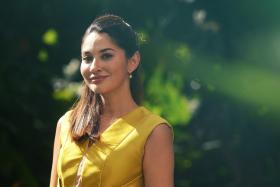 Miss Universe Singapore 2002 winner Nuraliza Osman, who is now national director of the even