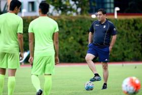 """""""Our first match (today) against Uzbekistan will be very tough, because they are also one of the best teams in Asia in terms of transition and attack, and hopefully we can get a good result."""" — Iran coach Amir Hossein Peyrovani (above, right), on their opponents"""