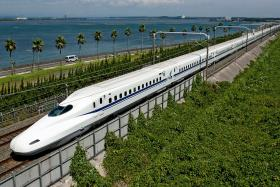 COMING: File picture of a High Speed Rail (HSR) train. The Singapore-Kuala Lumpur HSR is slated to begin in 2018 and start operations in 2026