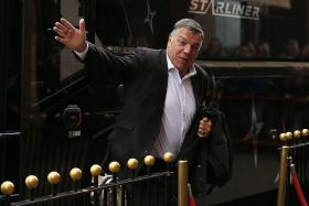 TAKING ENGLAND'S REINS: Big Sam is set to be handed the big job.