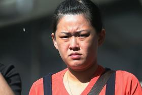 PUNISHED: Beer promoter Siow Hui Lin was fined $5,000 after pleading guilty to using criminal force on a cop.
