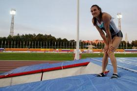 """If the International Olympic Committee refuses to allow Russian competitors to go to the Olympics, I don't see any point any more in continuing training."" - Pole vaulter Yelena Isinbayeva (above)"