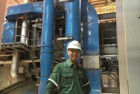 PASSIONATE: Mr Lim Zi Yang says engineering is a never-ending learning journey.